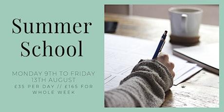 Northern Writers Studio Summer School tickets
