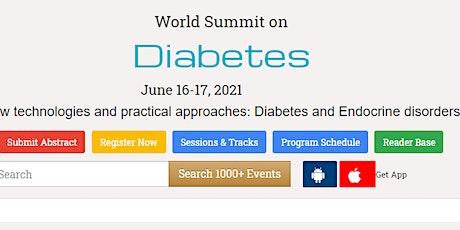 World Summit on  Diabetes tickets