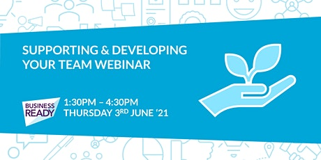 Supporting & Developing your Team Webinar tickets