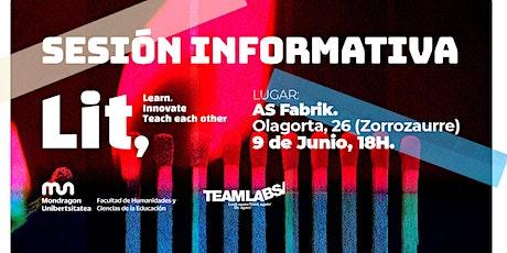 Sesión informativa LIT entradas