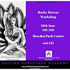 Rocky Horror Workshop tickets