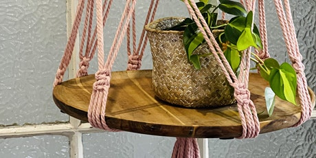 Intermediates class- 15th May- large macrame plant/decor hanger. tickets