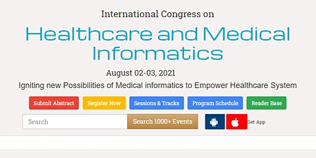 International Congress on  Healthcare and Medical Informatics tickets
