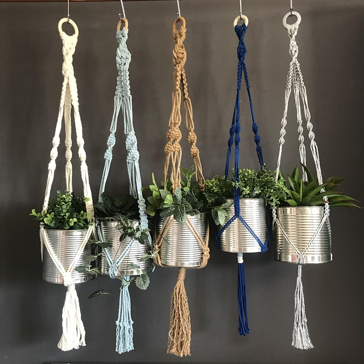 Macrame Plant Hanger Workshop  - Chichester image