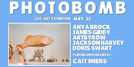 Photobomb - Live Art Exhibition tickets