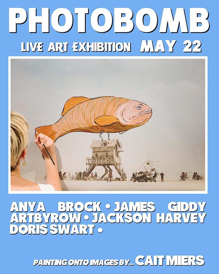 Photobomb - Live Art Exhibition image