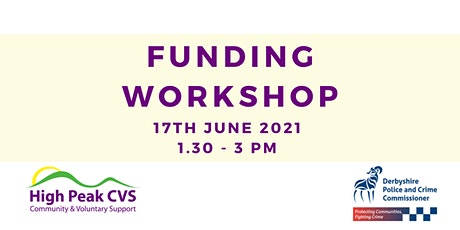 High Peak CVS Funding Workshop - PCC Vulnerability Fund tickets