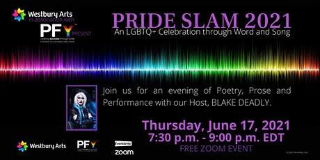 PRIDE SLAM 2021: An LGBTQ+ Celebration through Word and Song tickets