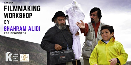 Filmmaking Workshop with Shahram Alidi tickets