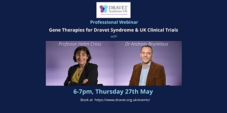 DSUK Professional Webinar: Gene Therapies for Dravet Syndrome tickets