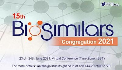 15th Biosimilars Congregation 2021 tickets