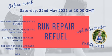 Run Repair Refuel online running nutrition workshop tickets