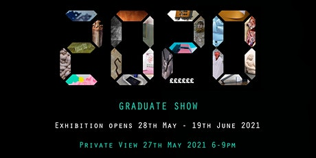 Open evening: 2020 Graduate Exhibition tickets