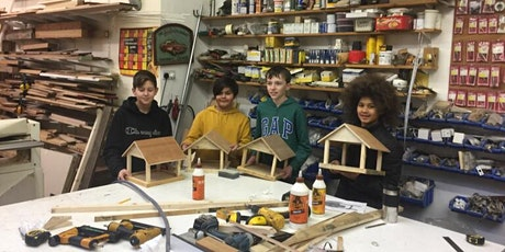 Parent and child, make a bird table, age7+ tickets