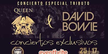 CONCIERTOS EXCLUSIVOS: TRIBUTOS A QUEEN Y DAVID BOWIE EN JERÉZ DE LA FRONT. entradas