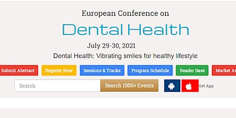 European Conference on  Dental Health tickets