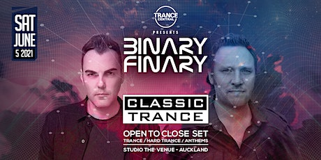 Binary Finary - Classic Trance Auckland tickets