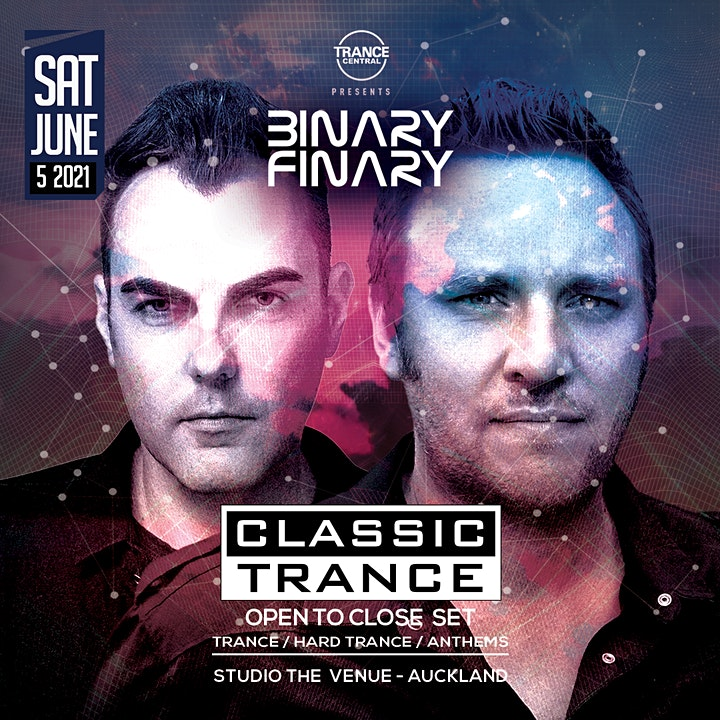 Binary Finary - Classic Trance Auckland image