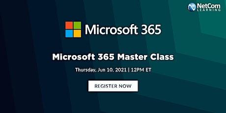 Live Event - Microsoft 365 Master Class tickets