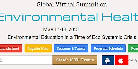 Global Virtual Summit on  Environmental Health tickets