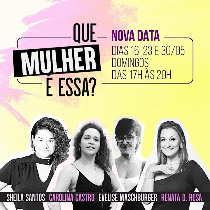 Imagem do evento Imersão Mulher que Dança - Que Mulher é essa??