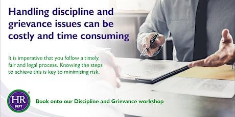 Management Essentials: Discipline & Grievance tickets