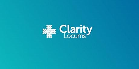 Pharmacy Technician Information Evening - Clarity Locums tickets