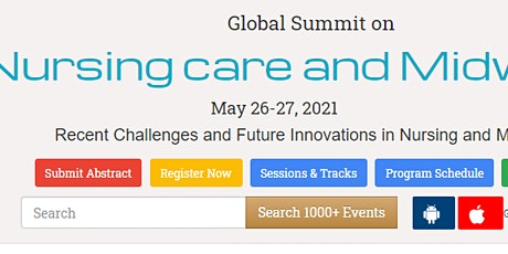 Global Summit on  Nursing care and Midwifery tickets