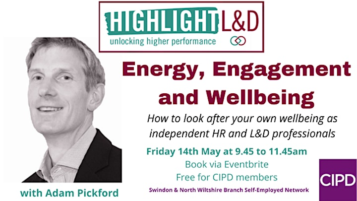 Energy, Engagement and Well-Being - Self Employed Network Event image
