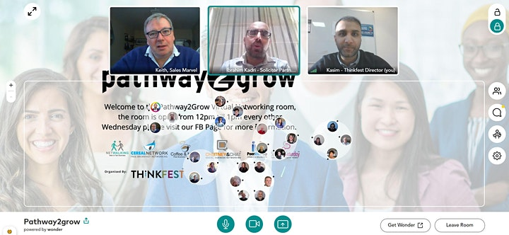 Pathway2Grow Online - Free Virtual Networking Event image