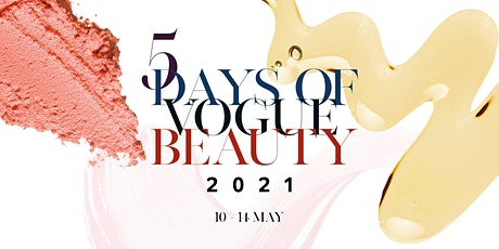 5 Days of Vogue Beauty bilhetes