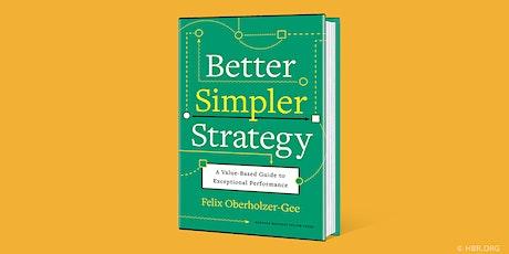 HBR Live Webinar: Better, Simpler Strategy ingressos