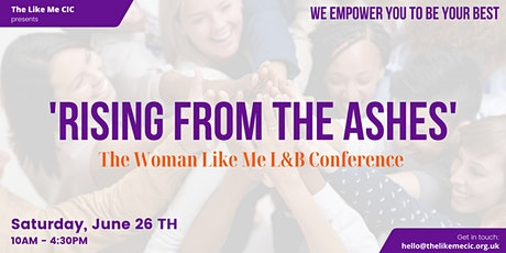 The Women Like Me L&B Conference 2021 tickets