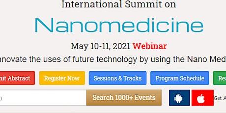 International Summit on  Nanomedicine tickets