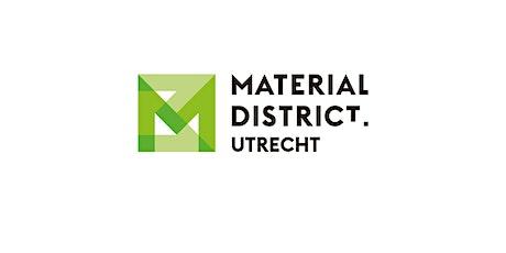 Digitale adviessessie standontwerp MaterialDistrict Utrecht 2021 tickets