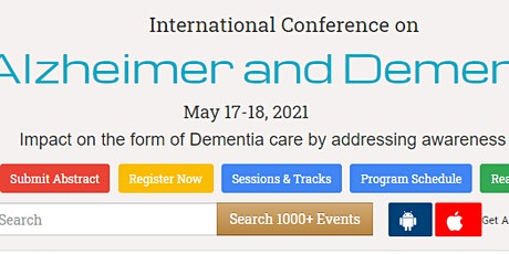 International Conference on  Alzheimer and Dementia tickets