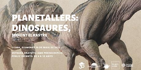 "Planetaller Infantil Planetari ""Dinosaures: seguint el rastre"" entradas"