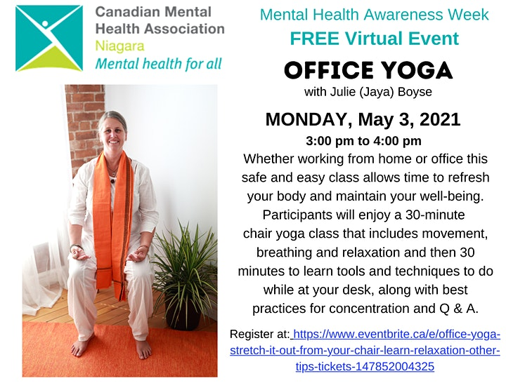 Office Yoga: Stretch it out from your chair, learn relaxation & other tips! image