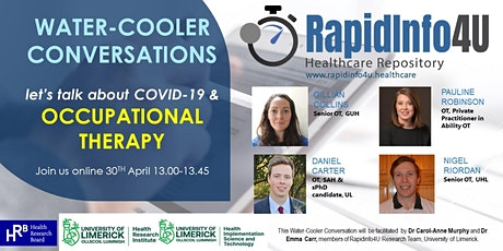 RapidInfo4U Water-Cooler Conversations: Let's talk about COVID-19 & OT tickets
