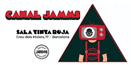 Canal Jamms Barcelona entradas