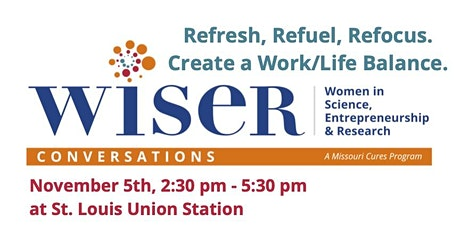 WISER Conversations: Refresh, Refuel, Refocus.  Create a Work/Life Balance tickets