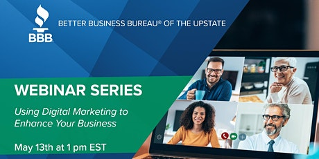 "Small business webinar: ""Using Digital Marketing to Enhance Your Business"" tickets"