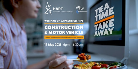 Teatime Takeaway Webinar  - Construction & Motor Vehicle tickets