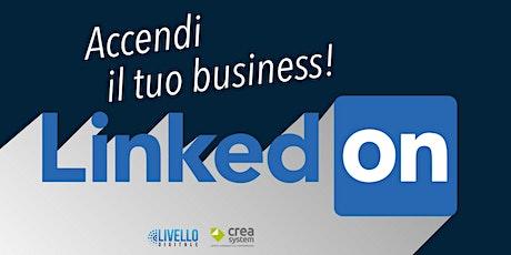 Linked ON - Accendi il tuo Business biglietti
