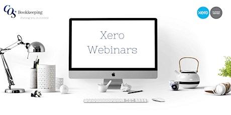 Xero Bank Reconciliation Webinar tickets