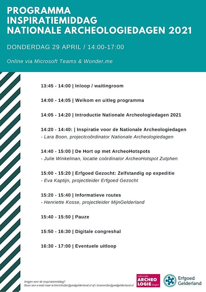 Afbeelding van Inspiratiemiddag Nationale Archeologiedagen   Provincie Gelderland