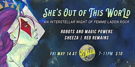 She's Out of This World: Night of Rock tickets