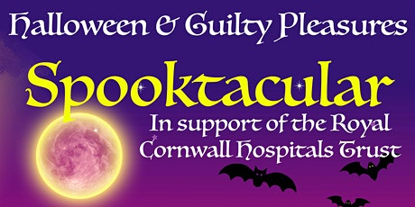 Fancy Dress Halloween Spooktacular - In aid of Royal Cornwall Hospital tickets