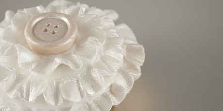 Vintage Button Ruffles Cupcake Topper Demonstration tickets