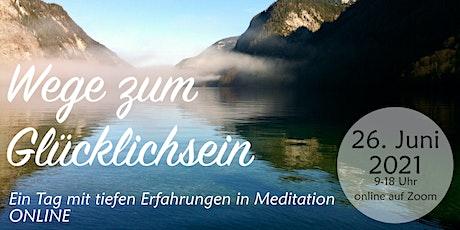 Meditation Intensiv Tickets